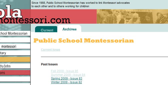 Public School Montessorian