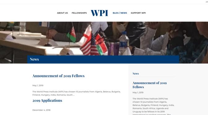 World Press Institute