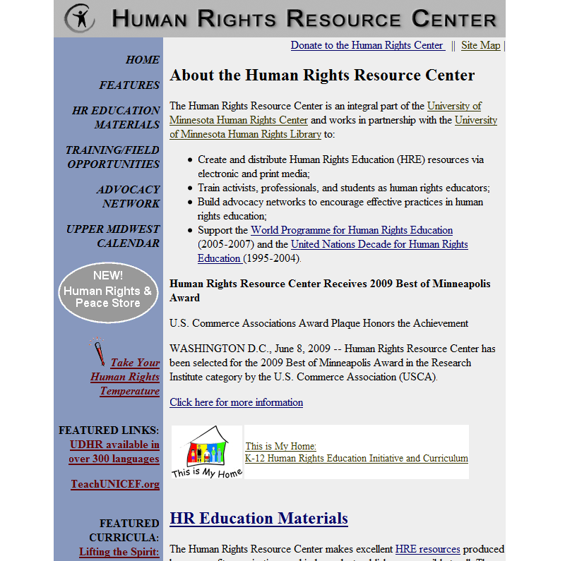Human Rights Resource Center
